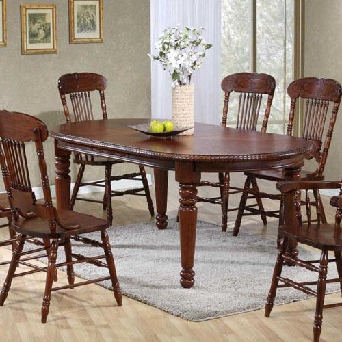 Стол обеденный раскладной GR HNDT 4280 SWL HN GLAZE